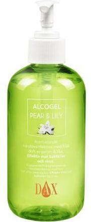 DAX DAX Alcogel Pear & Lily käsihuuhde pumppupullo 250 ml