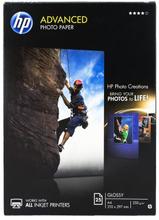 HP Photo-kiiltopaperi, A4 25 ark. 250g