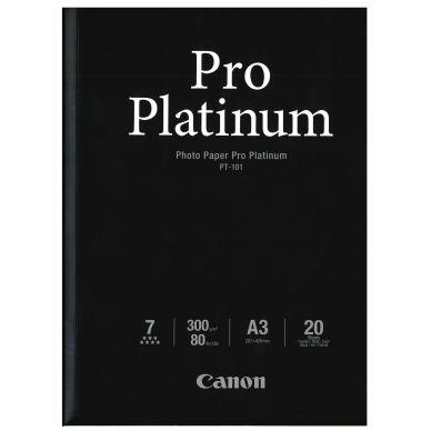 CANON Valokuvapaperi Pro Platinum A3 20 arkkia 300g (PT-101)