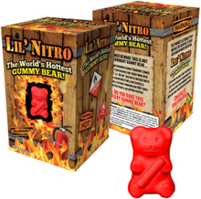 Lil Nitro - The Worlds Hottest Gummy Bear!