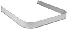 Leijma 8207 Duschsarg u-form, 92x92x92 cm, silver