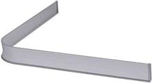 Leijma 8201 Duschsarg vinkel, silver 92x92 cm