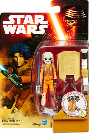 'STAR WARS VII Snow and Desert figur, Rebel''s Ezra Bridger' - ToysRUs.dk