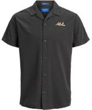 JACK & JONES Palmprydd Kortärmad Skjorta Man Blå