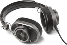 Mh40 Leather Over-ear Headphones - Black