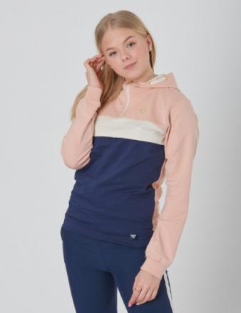 Hummel, LEIA ZIP HOODIE, Rosa, T-shirt/toppe till Pige, 164 cm - KidsBrandStore
