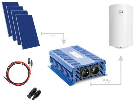 Zestaw do grzania wody w bojlerach ECO Solar Boost 1100W MPPT 4xPV Poli