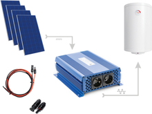 Zestaw do grzania wody w bojlerach ECO Solar Boost 1200W MPPT 4xPV Mono