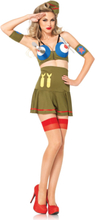 Leg Avenue - Bomber Girl Costume - Medium (8518402126)