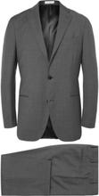 Boglioli - Blue Dover Slim-fit Virgin Wool Suit - Gray - XXL,Boglioli - Blue Dover Slim-fit Virgin Wool Suit - Gray - XXXL,Boglioli - Blue Dover Slim-fit Virgin Wool Suit - Gray,Boglioli - Blue Dover Slim-fit Virgin Wool Suit - Gray - L,Boglioli - Blue Do