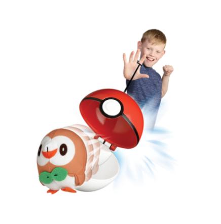 'Pokémon Toss''N''Pop sæt, Rowlet' - ToysRUs.dk