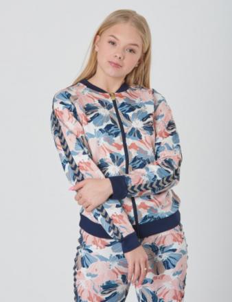 Hummel, IDA ZIP JACKET, Rosa, Trøjer/Cardigans till Pige, 140 - KidsBrandStore