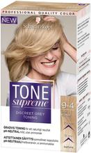 Köp Tone Supreme, 9-4 Beige Blond Schwarzkopf Toning fraktfritt