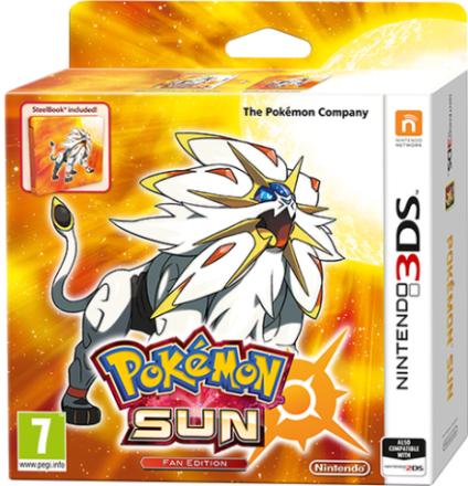Pokémon Sun Fan Edition (3DS) - ToysRUs.dk