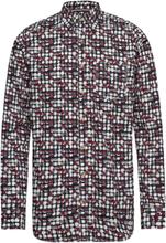 L/S Shirts Skjorta Casual Röd Signal