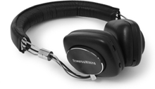P5w Leather-covered Wireless Headphones - Black