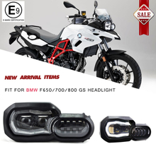 Motorcycle Lights Headlight For BMW F800GS F800R F700GS F650GS Adventure Motorcycles Complete LED Projector Headlight Assembly