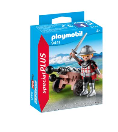 PLAYMOBIL 9441 ridder med kanon - ToysRUs.dk