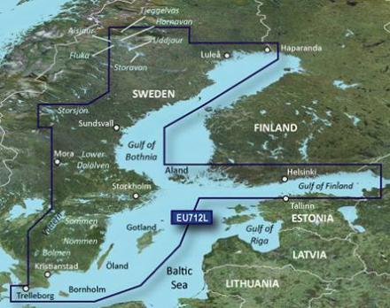 Ruotsin itärannikko ja Suomenlahti