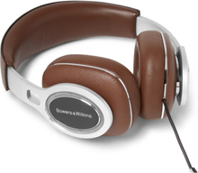 P9 Signature Cross-grain Leather Headphones - Brown