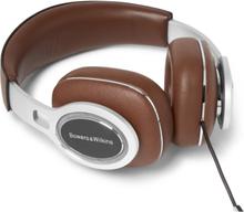 P9 Signature Cross-grain Leather Headphones - Brown