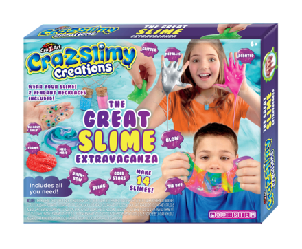 Cra-Z-Slimy The Great Slime Extravaganza sæt - ToysRUs.dk
