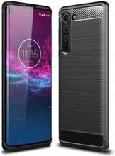 Motorola Edge Karbon fiber Skal - Svart