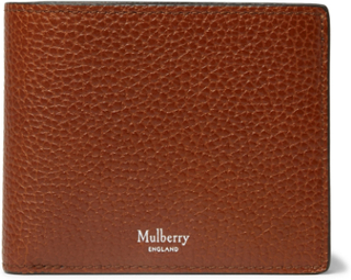 Full-grain Leather Billfold Wallet - Brown