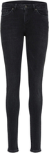 SELECTED Mid Waist - Skinny Fit Jeans Women Black