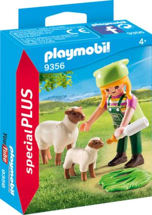 PLAYMOBIL 9356 bonde med får - ToysRUs.dk