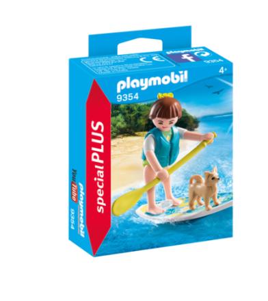 PLAYMOBIL 9354 paddleboarder - ToysRUs.dk