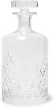 Barwell Cut Crystal Decanter - Clear