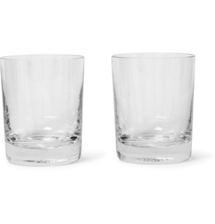 + Higgs & Crick Statesman Set Of Two Glasses - Clear