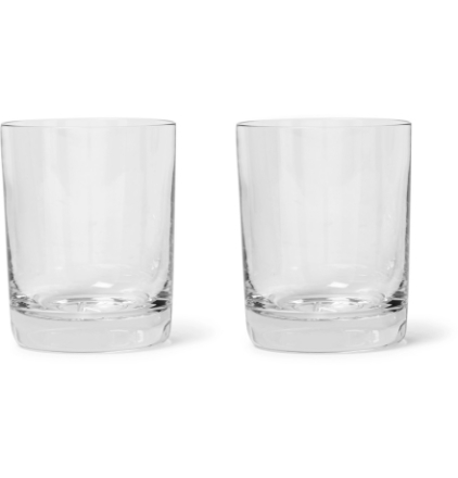 + Higgs & Crick Set Of Two Glasses - Clear