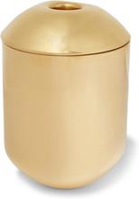 Form Brass Tea Caddy - Gold