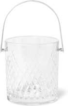 Barwell Cut Crystal Ice Bucket - Clear