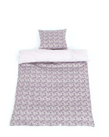 Smallstuff - Adult Bedding 140 x 200 cm - 100% Organic Cotton - Flowers