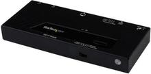 HDMI-switch med 2 portar och automatisk och prioriterad växling – 1080p