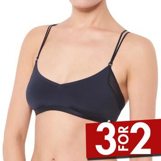 S by sloggi Bh Silhouette Top Sort 38 Dame