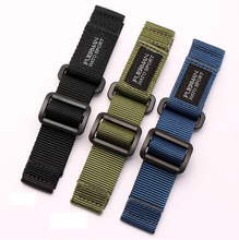 hot top Nylon nato watch strap for S-eiko no.5 007 series sport watchband 20mm 22mm 24mm velcro nato watch band