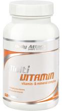 Body Attack Multivitamin 100 stk - Vitaminer & Mineraler