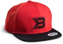 Better Bodies Flat Bill Cap - Black/Red