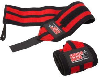Gorilla Wear Wrist Wraps RED - Håndleddstøtte