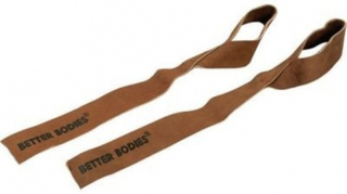 Better Bodies Basic Leather Straps - Drareimer