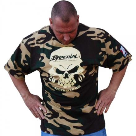 Brachial Skull T-skjorte - Camo