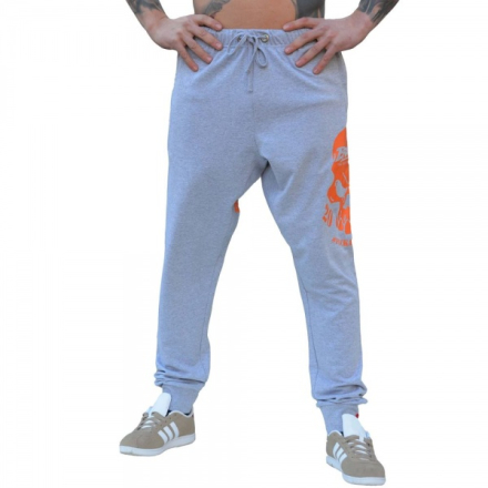"Brachial Jogger Pants ""Shatter"" Light Grey - Treningsbukse"