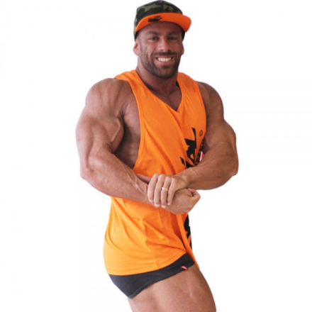 "Brachial Tank-Top ""Heat"" Orange"