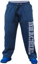 "Brachial Pants ""Gym"" Darkbluemelange / Grey - Treningsbukse"