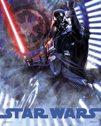 STAR WARS miniplakat Darth Vader - ToysRUs.dk