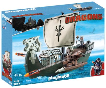 Playmobil 9244 Dragos skib - ToysRUs.dk
